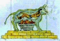 Eskiçağ Yunan İşkence Aleti: Pirinç Boğa