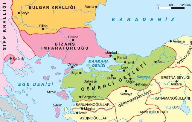 Osmanlı Devleti'nin kısa sürede güçlenmesini sağlayan unsurlar :