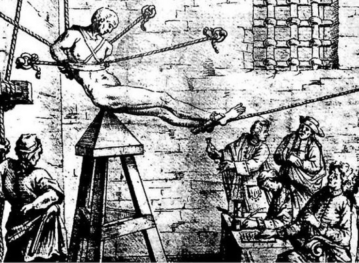 Engizisyon İşkence Aleti – Judas Sandalyesi (Yahudi Kızağı)