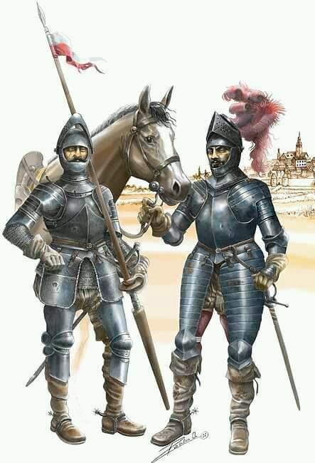 Yıldırım Bayezid zamanında Osmanlı ordusunda savaşmış Sırp askerleri...