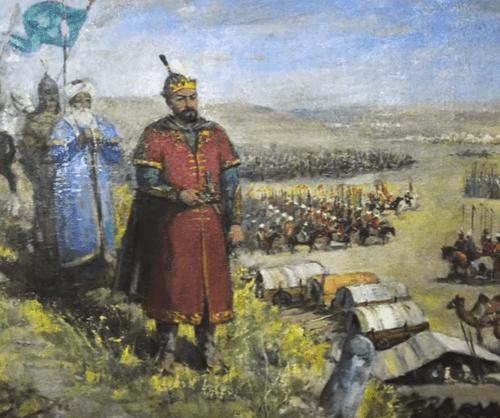Timur'un Toktamış Han'a taktiği