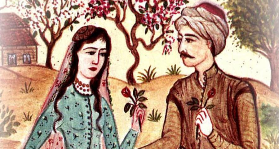 Mecnun'un Leyla aşkı