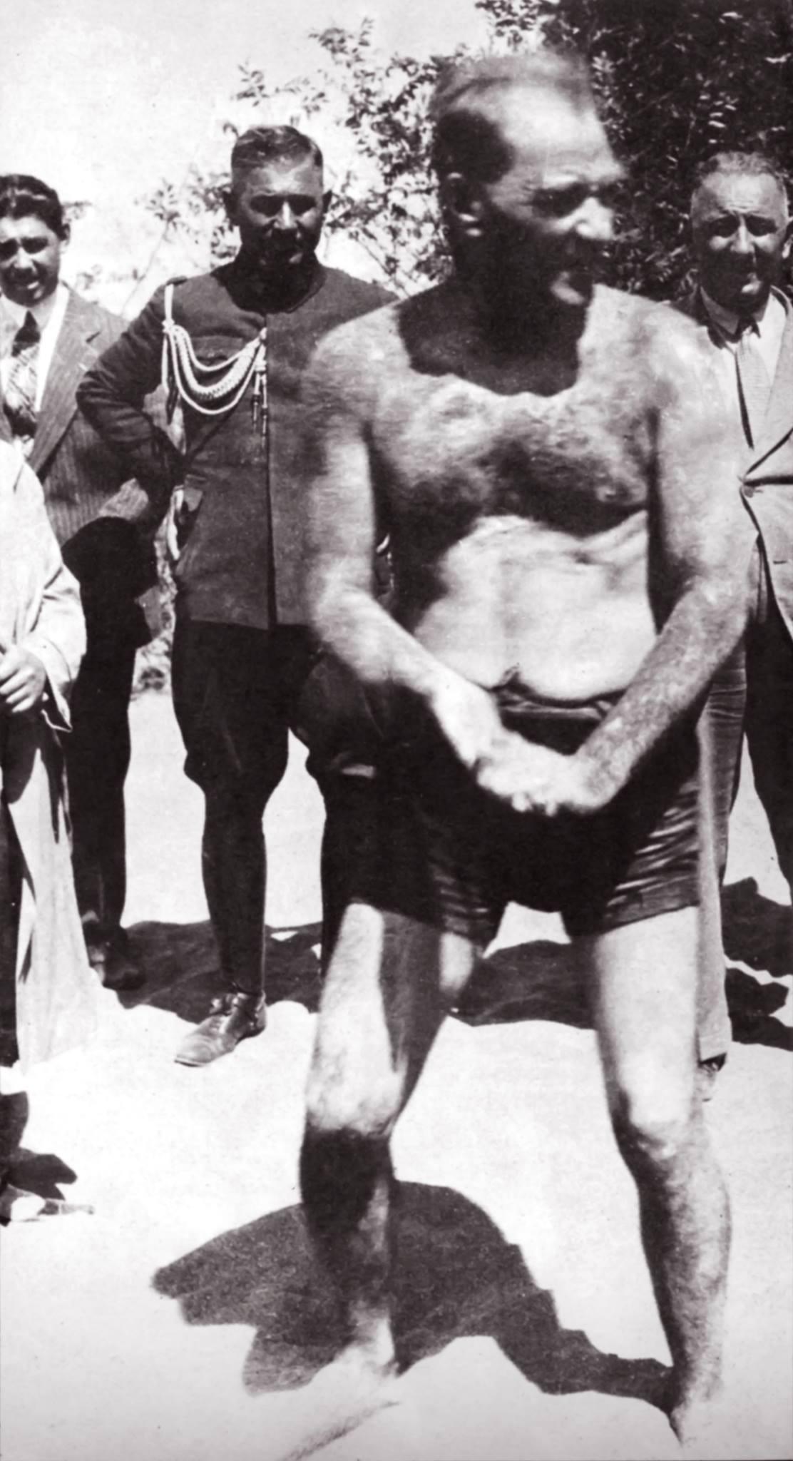 Mustafa Kemal ve Pehlivan arasında geçen konuşma