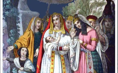 Hz Musa'nın Firavun'un ailesi tarafından nil nehrinden çıkarılması