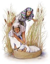 Hz Musa'nın Nil Nehri'nde bir sandığa konulması ve annesine vahyedilmesi