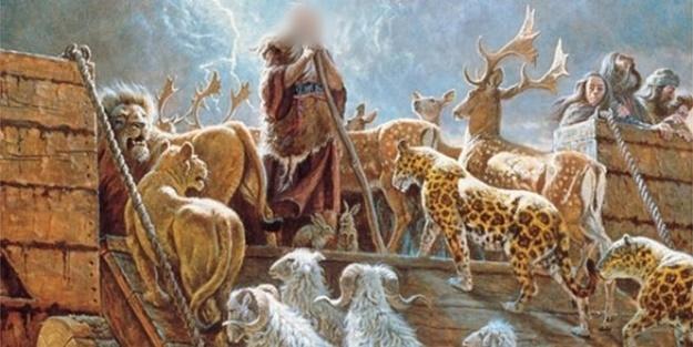 Hz Nuh ile birlikte gemiye kaç kişi bindi?