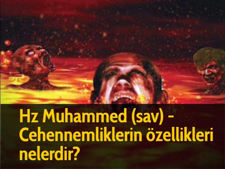 Hz Muhammed (sav) - Cehennemliklerin özellikleri nelerdir?