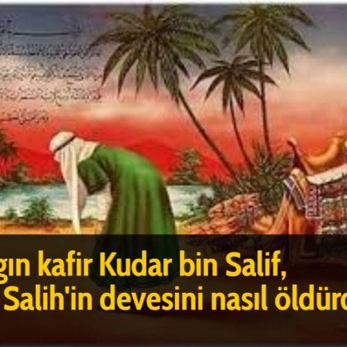 Azgın kafir Kudar bin Salif, Hz Salih'in devesini nasıl öldürdü?