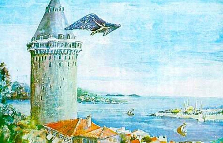 Hazerfen Çelebi, Galata kulesinden nasıl uçtu? 4. Murad Hazerfen Ahmet Çelebi ve Lagari Hasan Çelebi'yi neden sürdü?