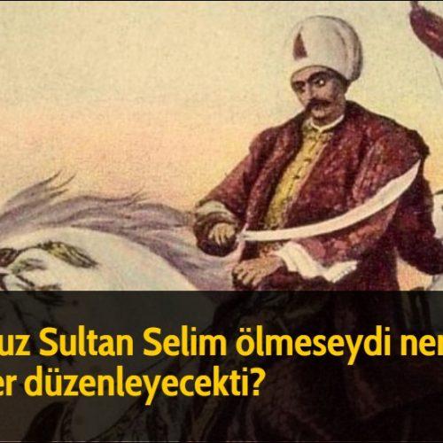 Yavuz Sultan Selim ölmeseydi nereye sefer düzenleyecekti?