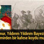 Timur, Yıldırım Yıldırım Bayezid'i demirden bir kafese koydu mu?