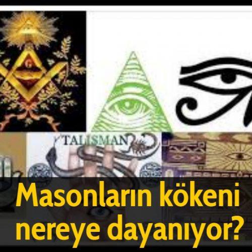 Masonların kökeni nereye dayanıyor?