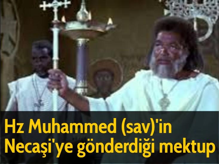 Hz Muhammed (sav)'in Necaşi'ye gönderdiği mektup